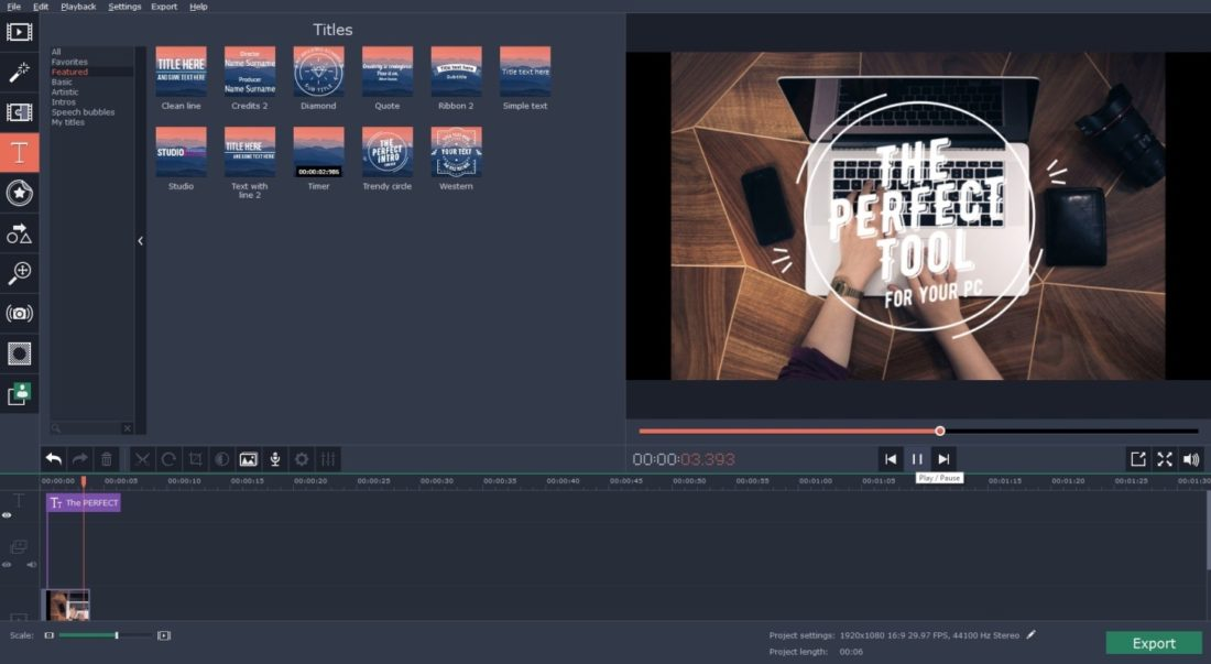 video editing software like imovie for windows